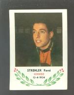 Chromo ( 6250 ) Cyclisme - Coureur - Wielrenner - Renner - Cycliste : N° 42 Strehler René - Wielrennen