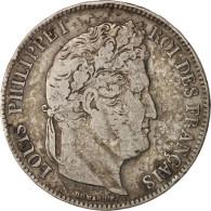 France, Louis-Philippe, 5 Francs, 1833, Bordeaux, TB+, Argent, KM:749.7 - Francia