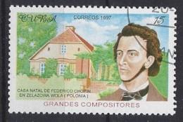Cuba  1997  Composers (o) Frederic Chopin - Cuba