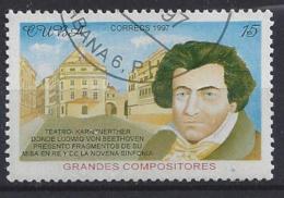 Cuba  1997  Composers (o) Ludwig Van Beethoven - Cuba
