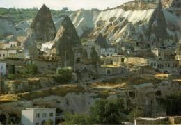 GERONE-NEVSEHIR  GOREME KASABAS-THE TOWN OF GEROME   MAXICARD (VIAGGIATA) - Turchia