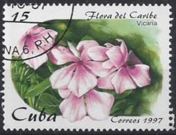 Cuba  1997  Flowers (o) - Cuba