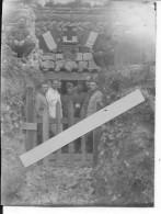 22 Juin 1916 Soldats Français Poste De Secours Du 3ème Régiment De Tirailleurs Algériens 1 Photo 14-18 1914-1918 Ww1 Wk1 - War, Military