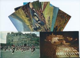 ECOSSE Scotland -Lot 8 Cartes Cpm - Scans R/V- Editions J.ARTHUR DIXON - Ecosse