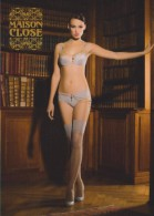 Carte Postale Publicitaire Lingerie Maison Close - Advertising