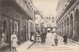Vimoutiers - Rue De La Boucherie (belle Animation)  -  Scan Recto-verso - Vimoutiers