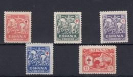 0532 EDIFIL Nº 993/97 CON CHARNELA - 1931-Hoy: 2ª República - ... Juan Carlos I