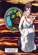 CPM (25) PONTARLIER 9ème Absinthiades Absinthe Fée Verte Style Art Nouveau Tirage Limité JIHEL / LARDIE - Lardie
