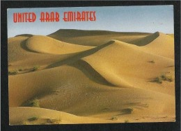 United Arab Emirates UAE  Dubai Picture Postcard Impression Of The Desert - Dubai
