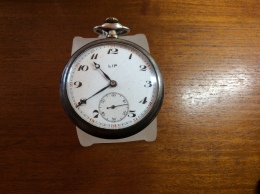 Montre Gousset Lip Argent - Horloge: Zakhorloge