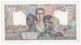 FAY 47/51 - 5000 FRANCS EMPIRE FRANCAIS - 28/03/1946 -TTB - 1871-1952 Anciens Francs Circulés Au XXème