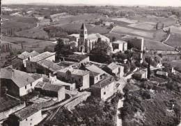 CPSM     En Avion Au Dessus De....FLAUGNAC  46    Le  Monument Et L´église - Autres Communes