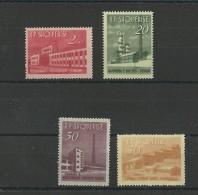 ALBANIE - YVERT N° 655/658 ** - COTE = 30 EURO - - Albania