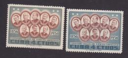 Cuba, Scott #577-578, Mint Hinged, Generals Of The Liberation, Issued 1957 - Cuba