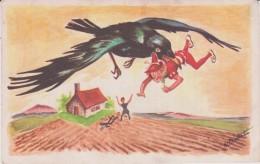 Vieux  Papier:  Genre Carte :  TOM  POUCE  ( Illustrateur) - Faire-part