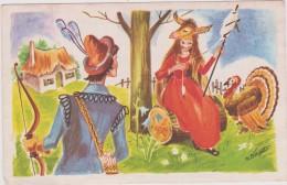 Vieux  Papier:  Genre Carte :  PEAU D '  ANE    ( Illustrateur) - Faire-part