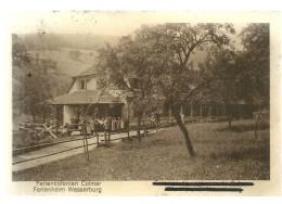 68 CPA Wasserbourg Wasserburg Colonie De Vacances Colmar Santé Genealogie - France