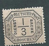 Confederation De L'allemagne Du Nord   Service N°2 *   - - Abc 17705 - North German Conf.