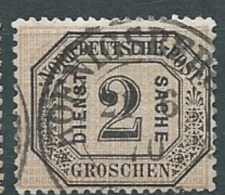 Confederation De L'allemagne Du Nord   Service N°5 Oblitéré *   - Abc 17707