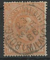 ITALIE - COLIS POSTAUX - YVERT N° 5 OBLITERE - COTE = 25 EUROS - 1878-00 Humbert I.