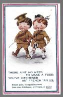 THERE AINT NO NEED TO MAKE..-tampon Du 326me Régiment Territorial D'infanterie---illust. Mc GILL DONALD---voir 2 Scans - Mc Gill, Donald