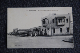 KENITRA - Boulevard Capitaine PETITJEAN - Maroc