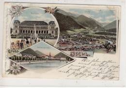 BAD ISCHL - Litho, Gel. 1898 - - Bad Ischl