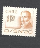 CILE   ( CHILE)  1979 Diego Portales 879 MNH - Cile