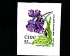 IRELAND/EIRE - 2009  55c. FLOWERS  SELF-ADHESIVE  SMALLER SIZE  MINT NH - 1949-... Repubblica D'Irlanda