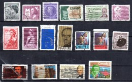CANADA  Lot   N °  363  Oblitere  Personnages - Ohne Zuordnung