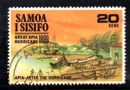 T581 - SAMOA SISIFO , Yvert N. 265  Usato . - Samoa