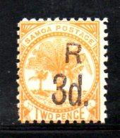 T582 - SAMOA SISIFO , Yvert N. 27 Dent 11  * . - Samoa