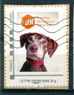 Montimbreamoi SPA (o) - Lettre Prioritaire 20g Sur Fragment - Personalized Stamps (MonTimbraMoi)
