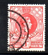 T587 - SWAZILAND 1938 , Gibbons N. 29a Usato  Dent 13 1/2 X 14 - Swaziland (...-1967)