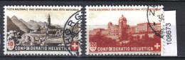 Schweiz PP 1943 Zst. 20 - 21 / Mi. 420 - 421 O - Usados
