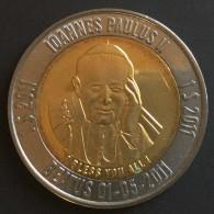 Micronésie  Micronésia..$1.. 2011..pape Jean Paul II,  1 Ier Type...bimetallic / Bimetal - Micronesia