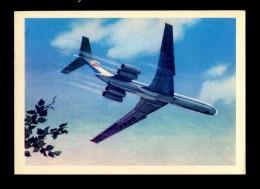 AVIATION Aircraft Plane Airplane Luftfahrt Flugzeug Avion Aéronautique Ilyushin Il 62 USSR - 1946-....: Moderne