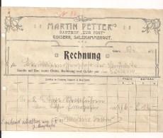 1 Rechnung Goisern 5.4.1932 Nach Goisern - Österreich