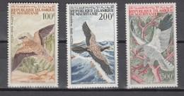 Mauritania 1964,3V,set,birds,vogels,vögel,oiseaux,pajaros,uccelli,aves,,MNH/Postfris(A2735) - Zonder Classificatie