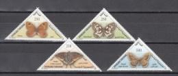 Tunesia 2001,4V,set,butterflies,vlinders,schmetterlinge,papillons,mariposas,farfalle,,MNH/Postfris(A2736) - Papillons