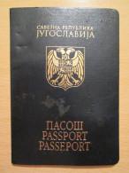Yugoslavian Passport , United Kingdom And Saudi Arabia Visas - Historische Dokumente