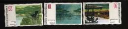Allemagne Berlin 1972 N° 390 / 2 ** Tableau, Bateau, Lacs, Lac, Grünewald, Von Riesen, Wann, Liebermann, Schlacht, Arbre - [5] Berlin