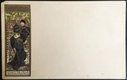 "CPA ILLUSTRATEUR MUCHA ""LORENZACCIO""(SARAH BERNARDT) 1898 THEATRE DE LA RENAISSANCE TRES  RARE - Mucha, Alphonse"