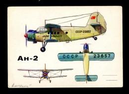 AVIATION Aircraft Plane Airplane Luftfahrt Flugzeug Avion Aéronautique Antonov AN 2 USSR - 1946-....: Moderne