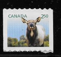 Canada 2014. # 2714,     WAPITI      Mnh - Roulettes