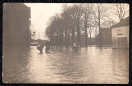 RENAIX - RONSE -- 1917 Zeldzame Fotokaart Overstroming BRUUL - CARTE PHOTO RARE INONDATIONS BRUUL - Ronse
