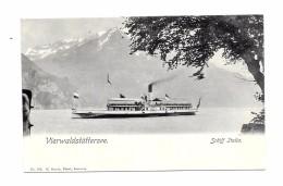 CPA -  Vierwaldstättersee Schiff Italia , Excellent état - Bateaux
