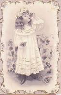 Enfant   177        ( Image Seule,  Enfant Mangeant Du Raisin ) - Portraits