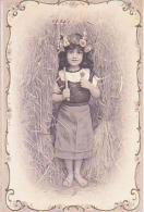 Enfant   178        ( Image Seule,  Enfant Au Rateau ) - Portraits