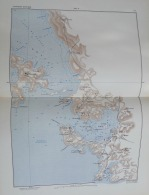 CARTE MILITAIRE EUROPE MARGA 1884N°72: AUTRICHE-HONGRIE POLA/PEROI/BRIONI/STIGNANO/FASANA - Geographical Maps